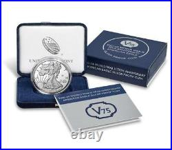 SEALED BOX End of World War II 75th Anniversary American Eagle Silver Proof Coin