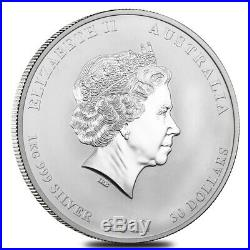 Sale Price 2012 1 Kilo Silver Lunar Year of The Dragon BU Australian Perth
