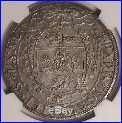 Salzburg 1623 Paris Von Lodron Silver Thaler NGC MS62
