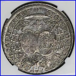 Salzburg 1759 Saint Rupert Silver Thaler NGC AU55