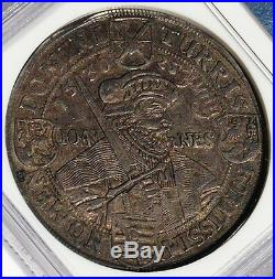 Saxony 1630 Augsburg Confession Centennial Silver Thaler NGC XF45