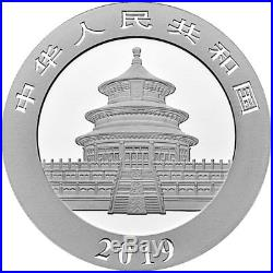 Sheet of 15 2019 China 30 g Silver Panda ¥10 Coins GEM BU PRESALE SKU55882