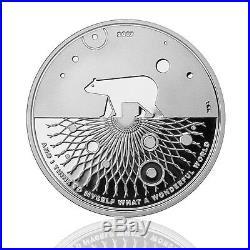 Silber Eisbär 2017 Icebear Proof 1 oz. 9999 Silver Wonderful World 03 Coin PP