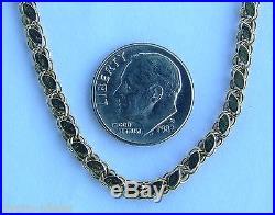 Spain 4 Reales Shipwreck Silver Coin Octopus & Diamond Pendant Necklace 14K Gold