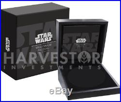 Star Wars Millennium Falcon 2 Oz. Silver Coin Ngc Pf70 First Releases Uhr