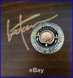 THE TRAP WITH THE GOLDEN BAIT ROMAN BOOTEN silver Morgan Dollar 2 Peso Gold coin