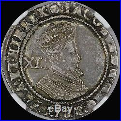 The Finest @ Pcgs & Ngc Au55 James I 1605-06 1s Shilling Bob, Toned, England