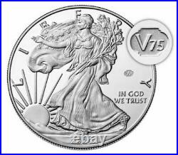 U. S. Mint End of World War II 75th Anniversary American Eagle Silver Proof Coin