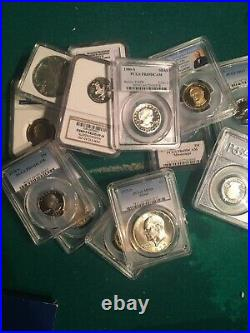 U. S. & World Coin Lot Silver, Gold, Proof, Unc, Pcgs U-pick-your-size & Items
