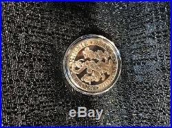 Walt Disney World Mickey Minnie Donald Goofy Ceasar Rufo Silver Classic Coin