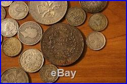 World Collection Lot Silver Coins