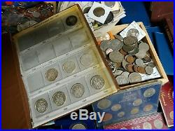 World Lifetime Coin Collection Lot 167 Pounds Silver Sets And More LOOK