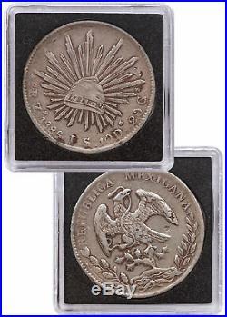 World Trade Dollar Set of 5 Coins c. 18th-19th In Wood Presentation Box SKU47864