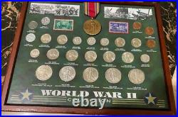 World War 2 Uncirculated set of coins Super Nice All coins High graded MS