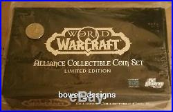 World of WarCraft Alliance Collect Coin Set Gold Silver Copper Plated DC Direct