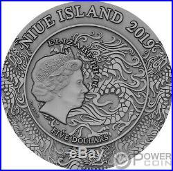 ZHAO YUN Ancient Chinese Warrior 2 Oz Silver Coin 5$ Niue 2019